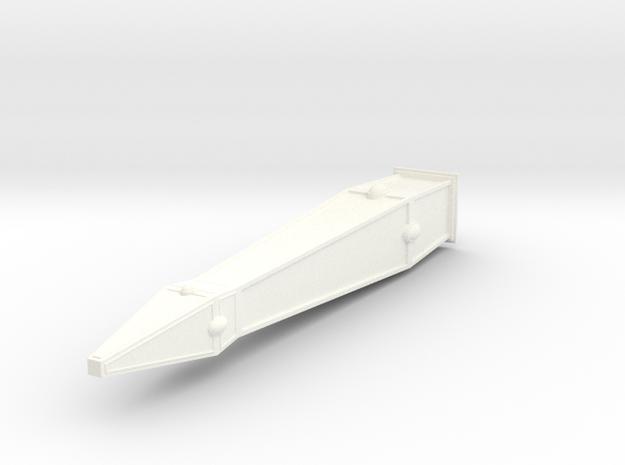 Pierre gardienne elfique 13.4cm (décors wargames s in White Strong & Flexible Polished