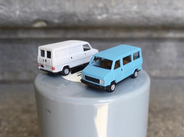 Van & minibus Fiat/PSA - N scale 1:160