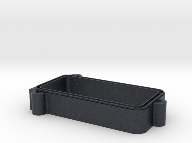 "TRX4 Receiver Box Extension 1/2"" Riser in Black PA12"