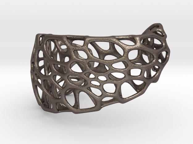 Spiral Cuff (sz S/M) 3d printed