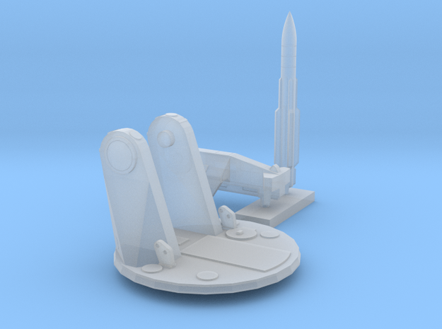 1:300 Scale Mk 22 GMLS in Smooth Fine Detail Plastic