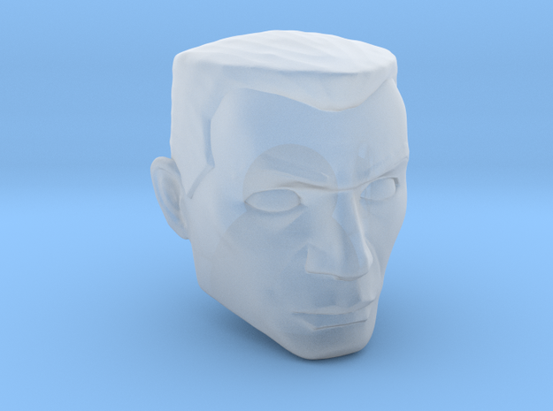 Animated generic hair clone for 1:12 scale in Smooth Fine Detail Plastic