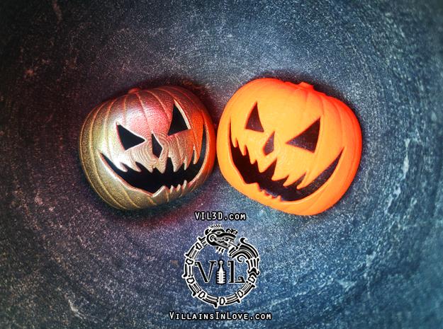 Halloween 6 PUMPKIN Pendant ⛧VIL⛧ in Orange Processed Versatile Plastic