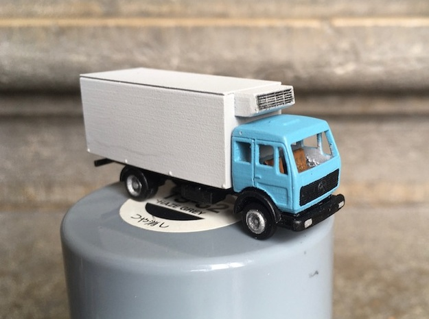 Mercedes NG N - 1:160 in Smooth Fine Detail Plastic