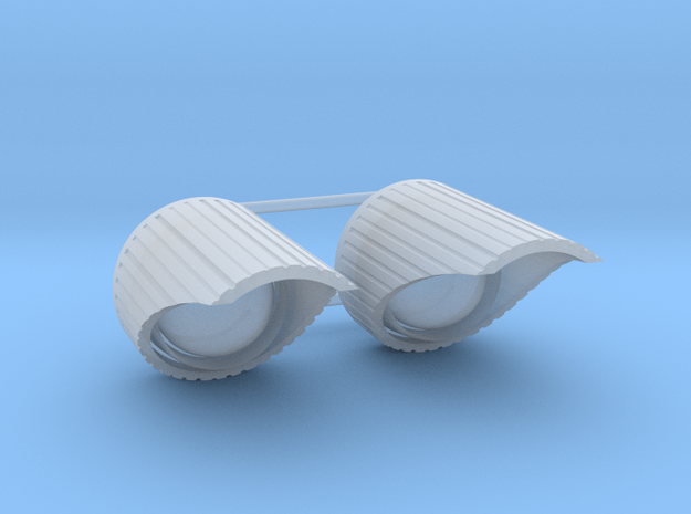 1/1000 Variant Nacelle End Cap 2pk in Smooth Fine Detail Plastic
