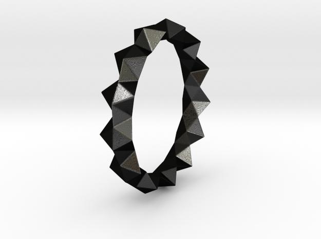 Igor - Ring in Matte Black Steel: 6 / 51.5