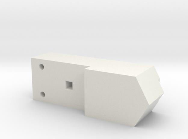 Athearn SD40 18x13 speaker box in White Natural Versatile Plastic