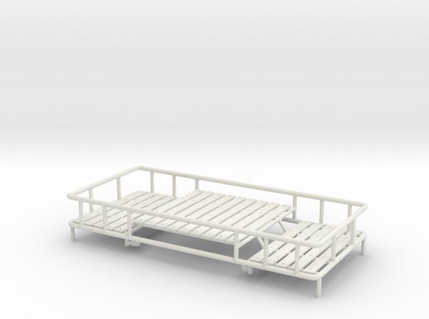 1:14 Roof rack Dachgepäckträger Tamiya LKW´s Truck in White Natural Versatile Plastic