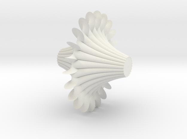 Breather Surface 4 in White Natural Versatile Plastic