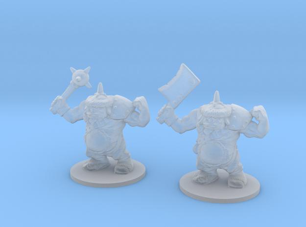 Ogre Champions 6mm monster Infantry Epic fantasy in Smooth Fine Detail Plastic