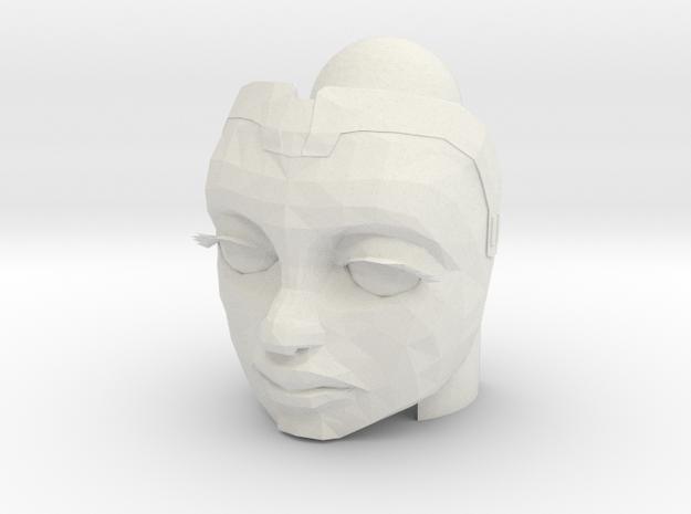 Ahsoka Head (Season 7) | CCBS in White Natural Versatile Plastic