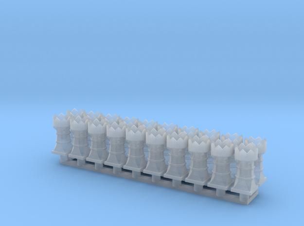 chimney bishop group in Smooth Fine Detail Plastic
