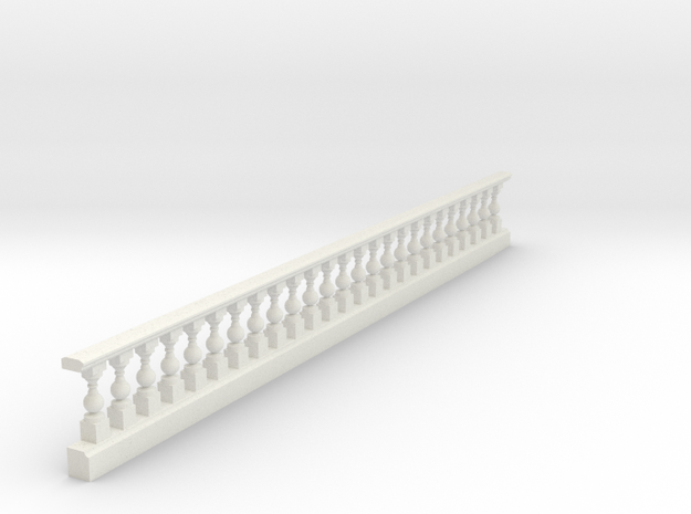 balustrade round in White Natural Versatile Plastic