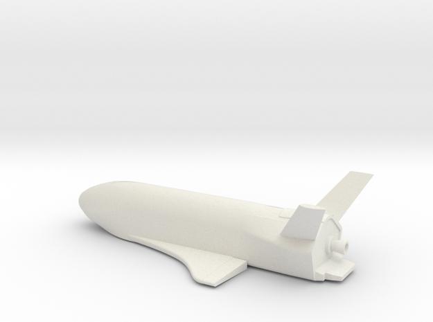 1/144 BOEING / USAF X-37B OTV VERSION 2.0 WSF in White Natural Versatile Plastic