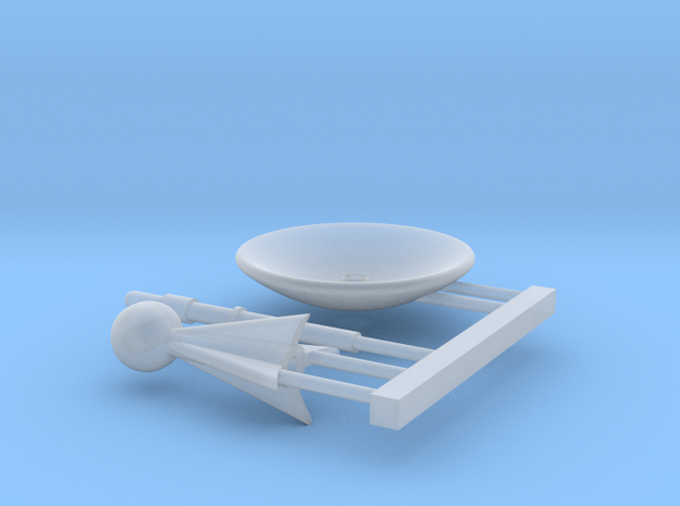 Ugh Style PSA Mount Kit for Loknar 1/1000 Scale in Smooth Fine Detail Plastic