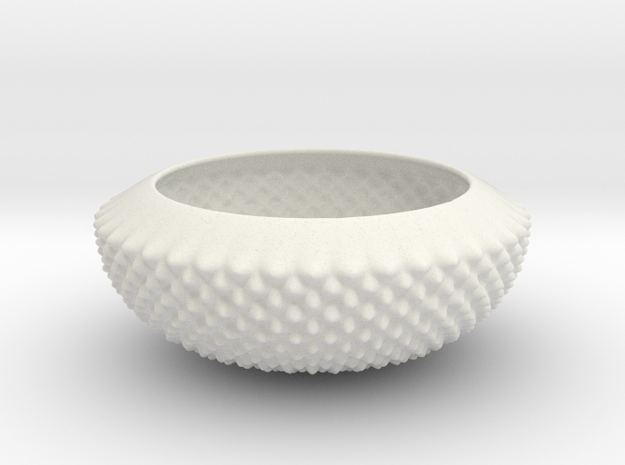 New Bowl in White Natural Versatile Plastic