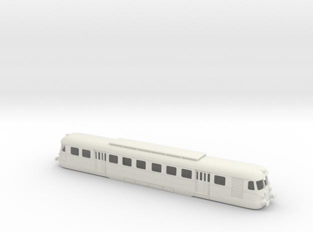FCU E.101 (OMS-TIBB) in H0 in White Natural Versatile Plastic