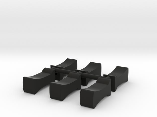 401P04x6 in Black Natural Versatile Plastic
