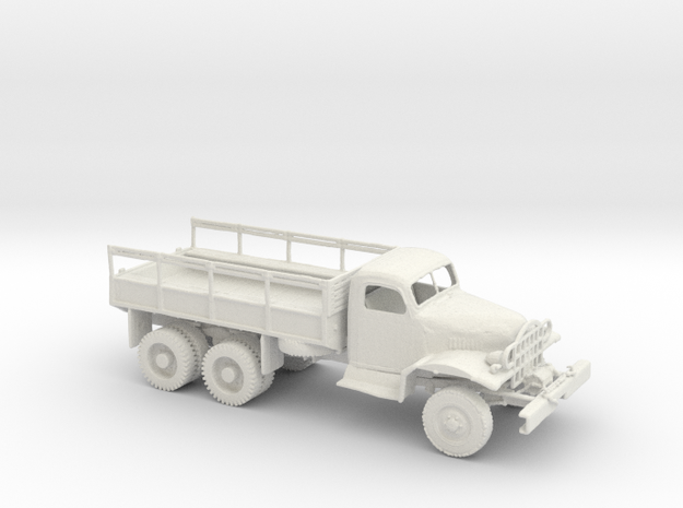 1/72 Scale GMC ACKWX 352 CARGO TRUCK in White Natural Versatile Plastic