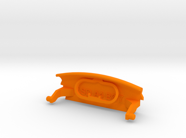 Audi A4 B6 armrest lid with spring pure/IMAGE 3d printed