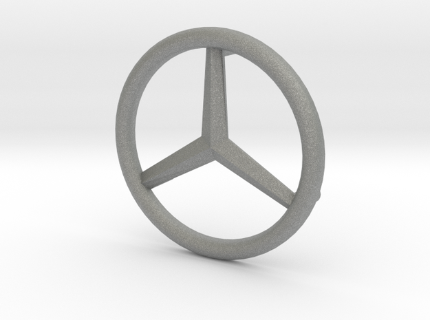 Mercedes Logo - Playbig in Gray PA12