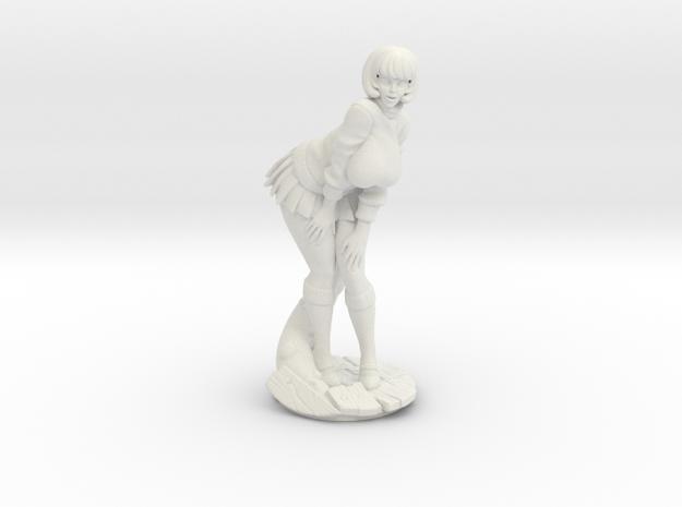 Velma V1 Plastic in White Natural Versatile Plastic: Medium