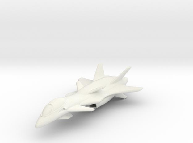 Raptor in White Natural Versatile Plastic