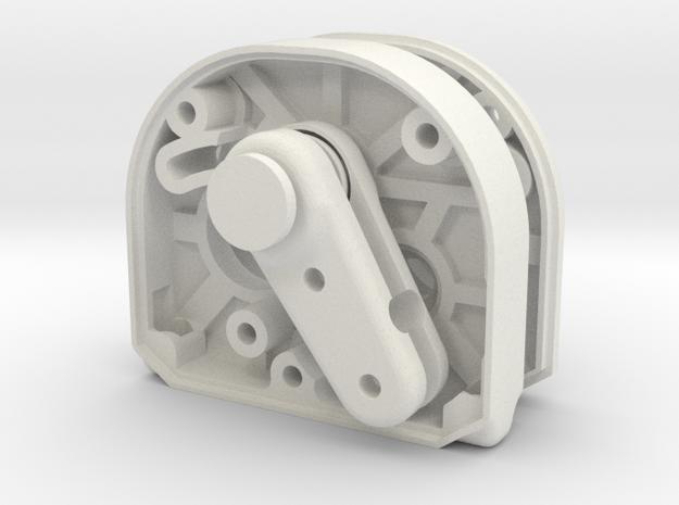2.2S Gearbox/BOITE V2 and SDI holder/support in White Natural Versatile Plastic