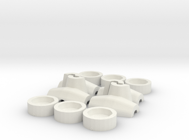 HO/1:87 Core-loc 3m mould kit in White Natural Versatile Plastic