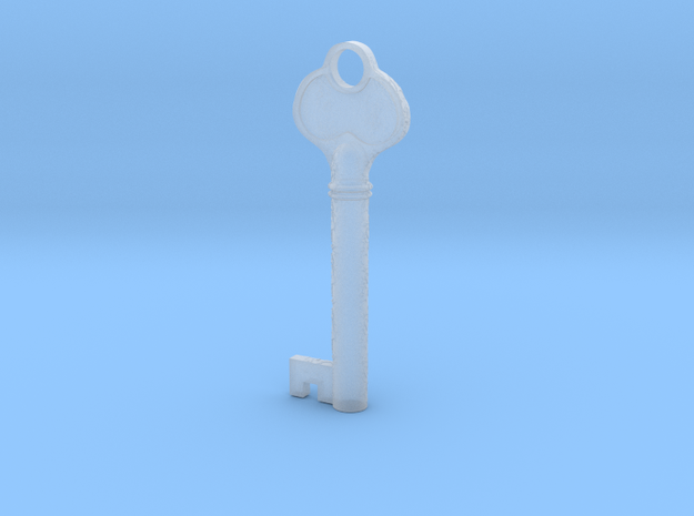 Bloodborne Lecture Theatre Key in Smooth Fine Detail Plastic