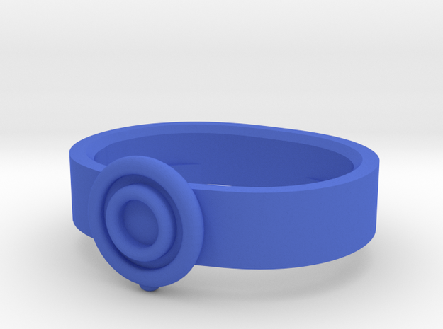 The Wizard's Belt in Blue Processed Versatile Plastic