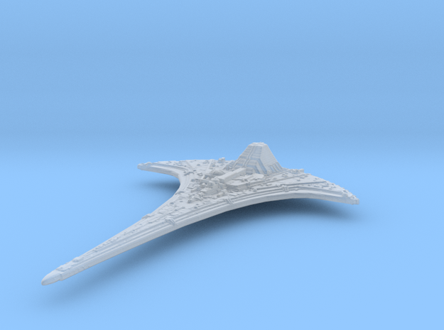 Spaceship 25mm in Smoothest Fine Detail Plastic