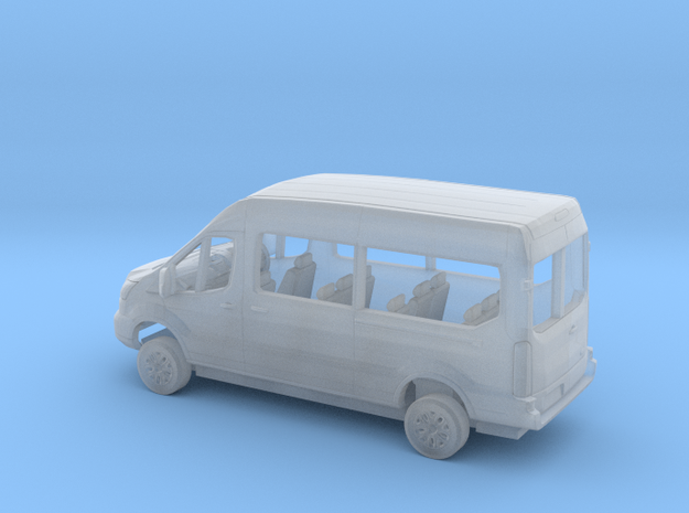 1/148 2018 Ford Transit Right Hand Drive Van Kit in Smooth Fine Detail Plastic