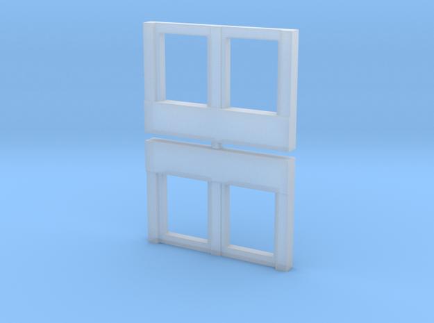 Milwaukee Road Modernized HW Windows in Smooth Fine Detail Plastic