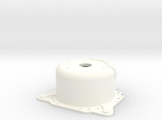 "1/8 Lenco 8.125"" Dp Bellhousing(No Starter Mnt) 3d printed"