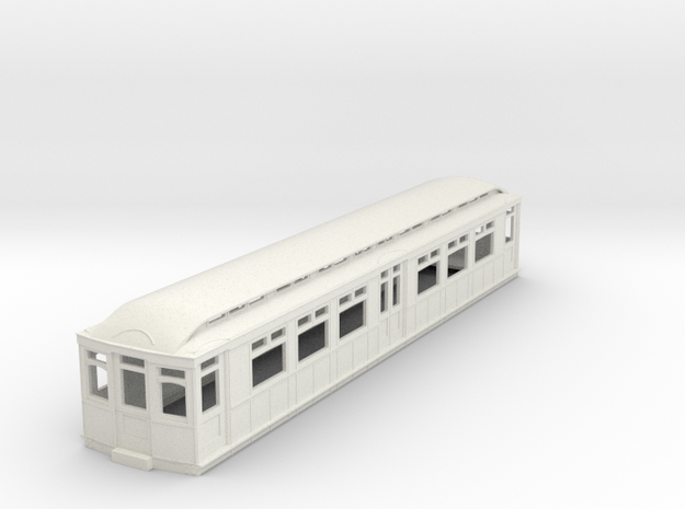 o-87-district-b-stock-trailer-coach in White Natural Versatile Plastic