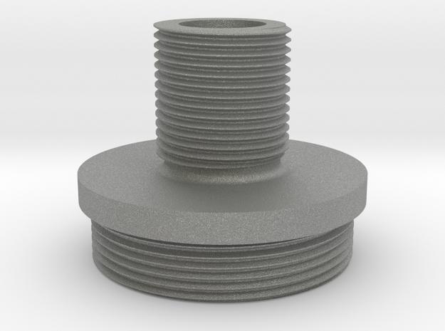 VSR-U threaded cap (14mm-) in Gray PA12