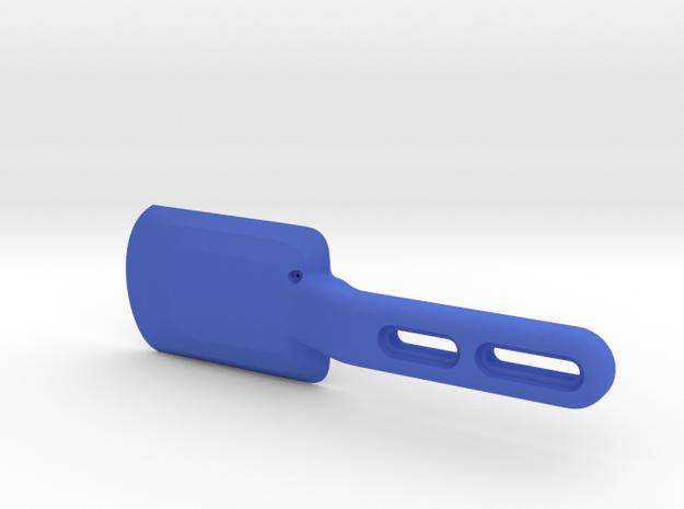 Wahoo Elemnt Roam Integrated Handlebar Mount in Blue Processed Versatile Plastic