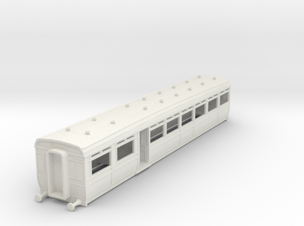 o-87-lswr-d29-pushpull-trailer-coach-1 in White Natural Versatile Plastic