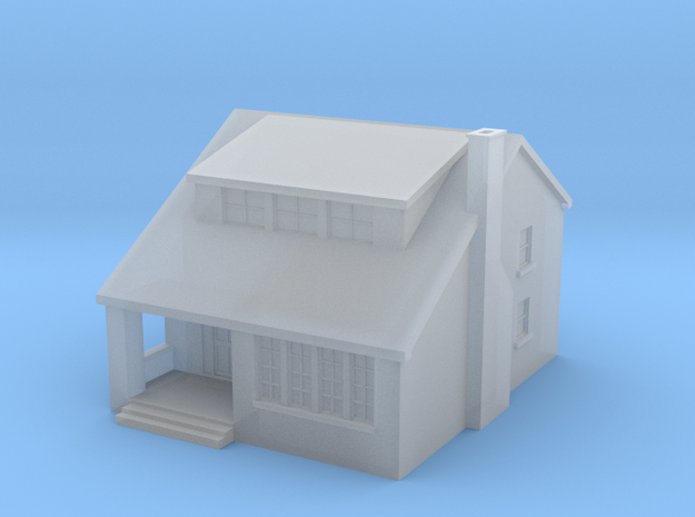 House 2 in Smoothest Fine Detail Plastic