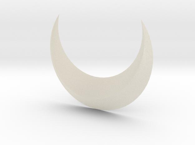 Moon 3d printed