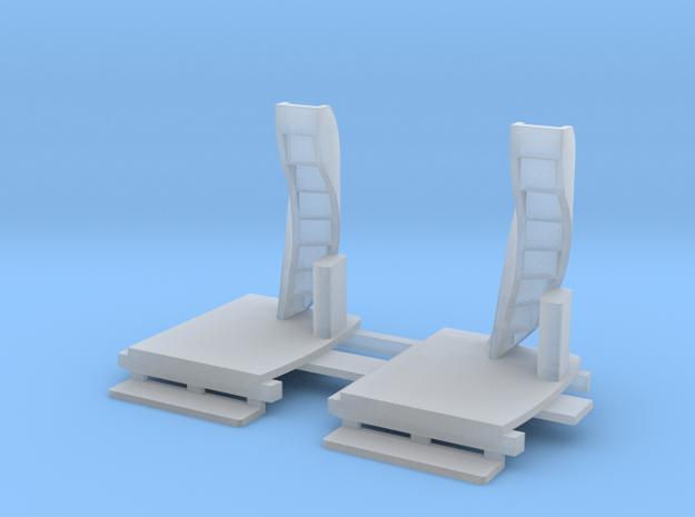 N Gauge - Howth 10 Platforms in Smooth Fine Detail Plastic