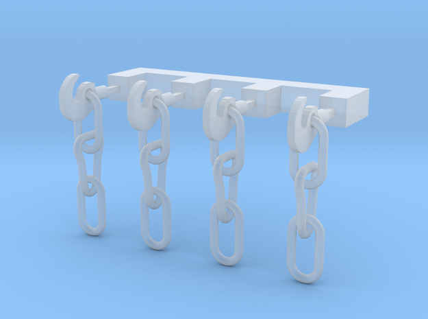 OO Scale Instanter Couplings in Smoothest Fine Detail Plastic