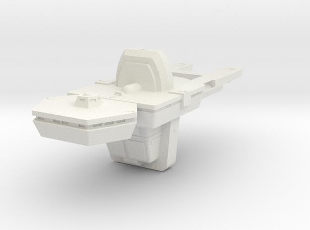 1400 Antares Hull in White Natural Versatile Plastic