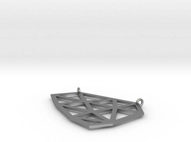 Polygon Pendant 3d printed