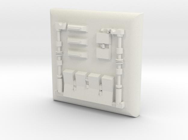 Chest box ESB 1:1 in White Natural Versatile Plastic