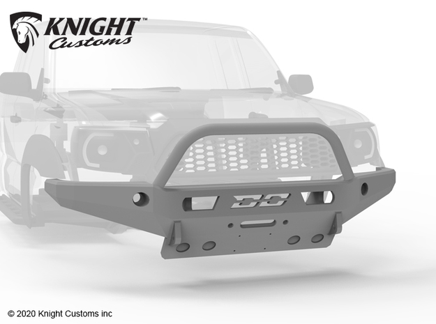 KCDM1005 Demello Metric Front Bumper & Bull bar in Black Natural Versatile Plastic