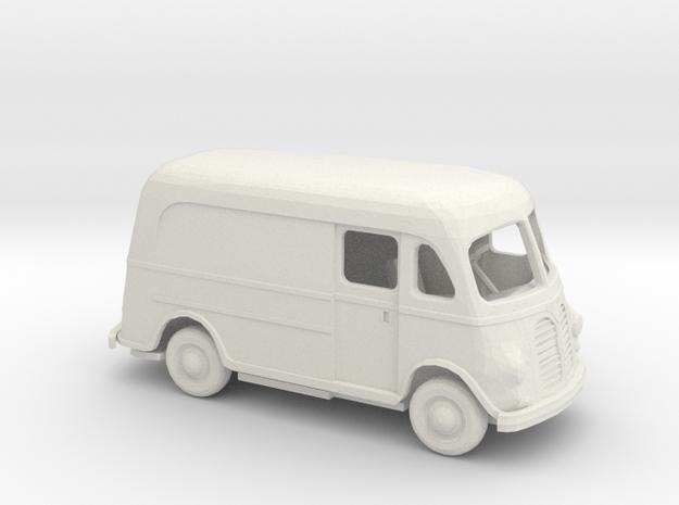 1/72 1950 International Metro Ext Van Kit in White Natural Versatile Plastic