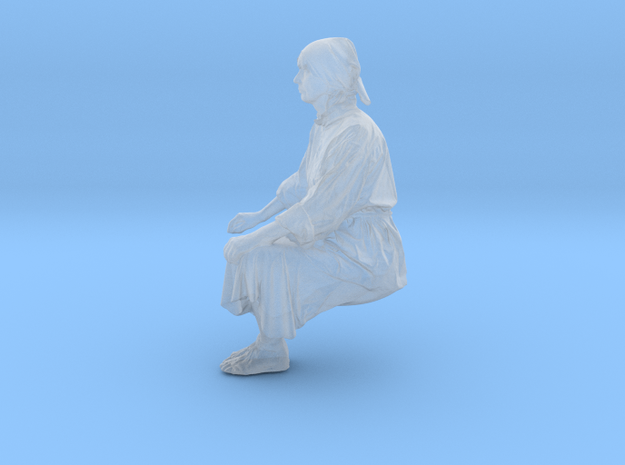 Rafter sitting in Smooth Fine Detail Plastic: 1:75