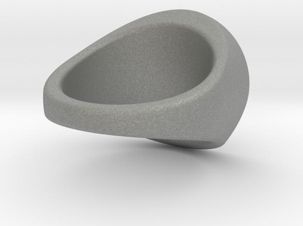 Custom Signet Ring 100 in Gray PA12